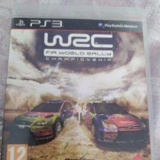 Videojuegos y Consolas: WRC WORLD RALLY CHAMPIONSHIP PS3. Lote 279358898