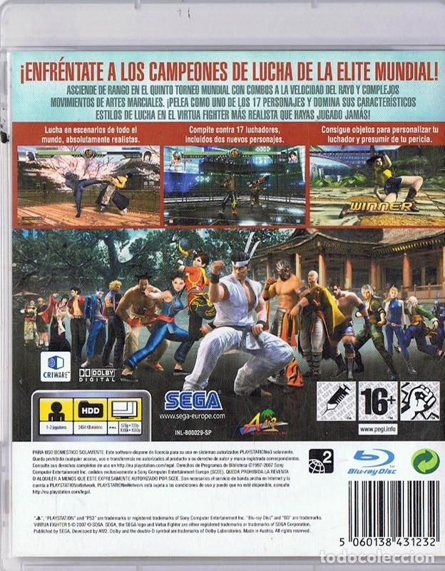 Videojuegos y Consolas: VIRTUA FIGHTER 5 PLAYSTATION 3 - Foto 2 - 287362838