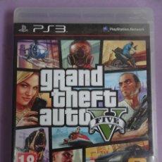 Videojuegos y Consolas: GRAND THEFT AUTO V , PS3 PLAYSTATION. Lote 287654263