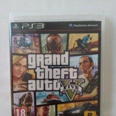 Videojuegos y Consolas: PS3 GRAND THEFT AUTO V,IDIOMA INGLES COMO NUEVO. Lote 288327453