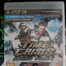 Videojuegos y Consolas: TIME CRISIS - RAZING STORM - SONY PLAYSTATION 3 - PS3. Lote 289295658