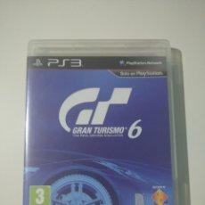 Videojuegos y Consolas: GRAN TURISMO 6 PS3. Lote 289345433
