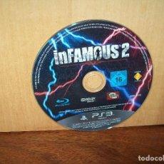 Videojuegos y Consolas: INFAMOUS 2 - PS3 SOLO BLU-RAY DEL JUEGO, SIN NADA MAS. Lote 289881233