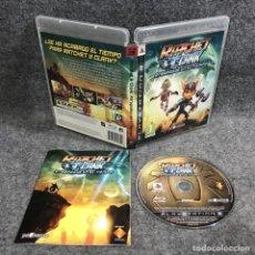 Videojuegos y Consolas: RATCHET AND CLANK ATRAPADOS EN EL TIEMPO SONY PLAYSTATION 3 PS3. Lote 289938773
