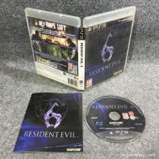 Videojuegos y Consolas: RESIDENT EVIL 6 SONY PLAYSTATION 3 PS3. Lote 289938798