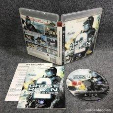 Videojuegos y Consolas: GHOST RECON ADVANCED WARFIGHTER 2 SONY PLAYSTATION 3 PS3. Lote 289938808