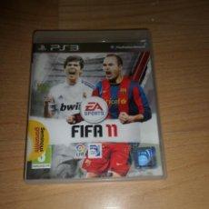Videojuegos y Consolas: FIFA 11 - PLAY STATION 3 / PS3 / PLAYSTATION 3 - DISPONGO DE MAS VIDEOJUEGOS. Lote 292010163