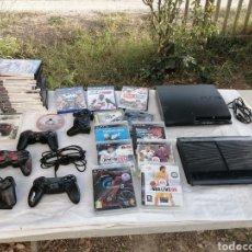Videojuegos y Consolas: LOTE DE DOS PLAYSTATION 3 Y UN MONTON DE JUEGOS. Lote 295303328