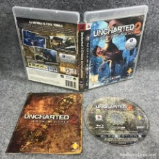 Videojuegos y Consolas: UNCHARTED 2 EL REINO DE LOS LADRONES SONY PLAYSTATION 3 PS3. Lote 295382788