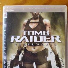 Videojuegos y Consolas: TOMB RAIDER, UNDERWORLD - PS3 PLAYSTION 3 PAL -. Lote 295712998