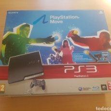 Videojuegos y Consolas: CAJA PLAYSTATION 3 320 GB PS3 MOVE. Lote 295786388
