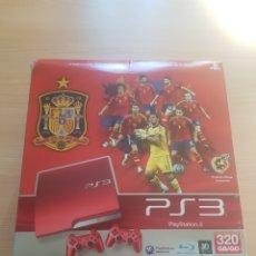 Videojuegos y Consolas: CAJA PLAYSTATION 3 320 GB PS3 SELECCIÓN ESPAÑOLA. Lote 295786958