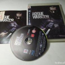 Videojuegos y Consolas: ROGUE WARRIOR ( PS3 - PAL - ESP ). Lote 295813198
