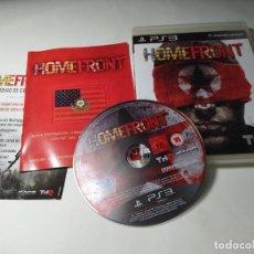 Videojuegos y Consolas: HOMEFRONT ( PS3 - PAL - ESP ). Lote 295813243