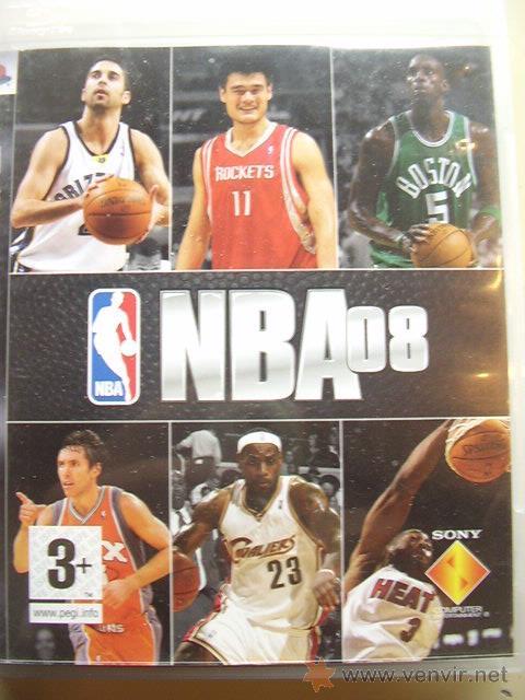 NBA 08 PARA PLAYSTATION 3. JUEGO ORIGINAL (Juguetes - Videojuegos y Consolas - Sony - PS3)