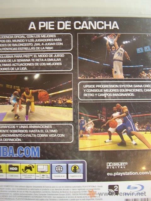 Videojuegos y Consolas: NBA 08 para PlayStation 3. Juego Original - Foto 2 - 26831535