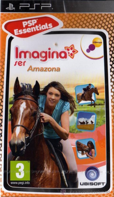 IMAGINA SER AMAZONA - JUEGO PSP TOTALMENTE EN CASTELLANO (PRECINTADO) (Juguetes - Videojuegos y Consolas - Sony - Psp)