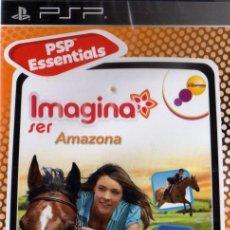 Videojuegos y Consolas: IMAGINA SER AMAZONA - JUEGO PSP TOTALMENTE EN CASTELLANO (PRECINTADO). Lote 28746188