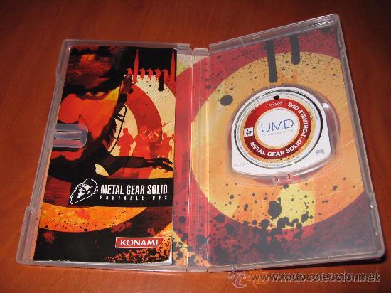 Videojuegos y Consolas: METAL GEAR SOLID PORTABLE OPS para Psp Pal España - Foto 2 - 29264507