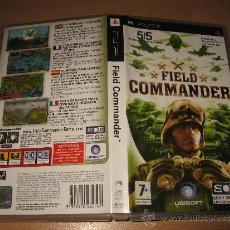 Videojuegos y Consolas: FIELD COMMANDER - PSP PAL ESPAÑA COMPLETO. Lote 30807841