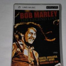 Videojuegos y Consolas: BOB MARLEY THE LEGEND LIVE - UMD VIDEO PARA PSP . NUEVO SIN DESPRECINTAR . . Lote 31533235
