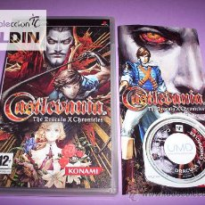 Videojuegos y Consolas: CASTLEVANIA THE DRACULA X CHRONICLES COMPLETO. EN . PLAYSTATION PORTABLE PSP. Lote 36142249