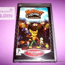 Videojuegos y Consolas: RATCHET AND CLANK EL TAMAÑO IMPORTA NUEVO PRECINTADO PLAYSTATION PORTABLE PSP. Lote 27678282