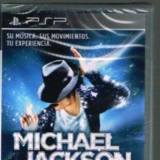 Videojuegos y Consolas: MICHAEL JACKSON. THE EXPERIENCE - JUEGO PSP - PRECINTADO. Lote 32318055