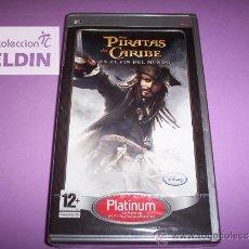 Videojuegos y Consolas: PIRATAS DEL CARIBE EN EL FIN DEL MUNDO NUEVO PRECINTADO PLAYSTATION PORTABLE PSP. Lote 44787247