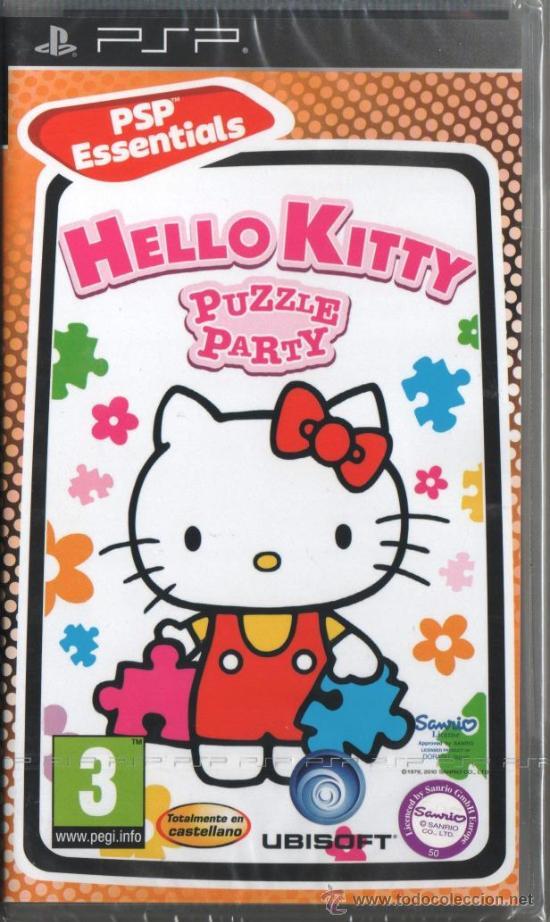 HELLO KITTY PUZZLE PARTY - JUEGO PSP (PRECINTADO) (Juguetes - Videojuegos y Consolas - Sony - Psp)