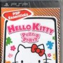 Videojuegos y Consolas: HELLO KITTY PUZZLE PARTY - JUEGO PARA PSP (PRECINTADO). Lote 61314681