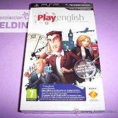 Videojuegos y Consolas: PLAY ENGLISH NUEVO PRECINTADO PAL ESPAÑA PSP EDICIÓN COLECCIONISTA. Lote 35118449