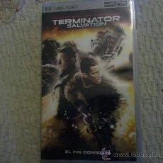 """Videojuegos y Consolas: PELICULA UMD PARA PSP """"TERMINATOR SALVATION"""" (UTILIZADA). Lote 36320219"""