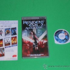 Videojuegos y Consolas: RESIDENT EVIL 2 ( APOCALIPSIS ) - UMD - PSP. Lote 36544976