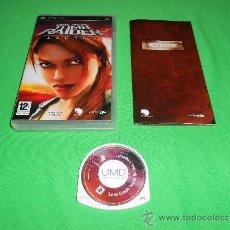 Videojuegos y Consolas: LARA CROFT TOMB RAIDER LEGEND - PSP - EIDOS - TOTALMENTE EN CASTELALNO. Lote 36677544