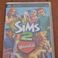 Videojuegos y Consolas: JUEGO LOS SIMS 2 MASCOTAS PARA PSP ( PLAYSTATION@PORTABLE). UMD, ULES 00596. 12+. Lote 39777579