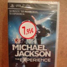 Videojuegos y Consolas: MICHAEL JACKSON. THE EXPERIENCE. SU MÚSICA, SUS MOVIMIENTOS, TU EXPERIENCIA. PRECINTADO.. Lote 43281885