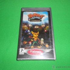 Videojuegos y Consolas: RATCHET & CLANK ( EL TAMAÑO IMPORTA ) - PSP - NUEVO Y PRECINTADO. Lote 45117755