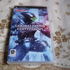 Videojuegos y Consolas: CODED ARMS CONTAGION - PSP - EDICIÓN ESPAÑA - NUEVO - PRECINTADO. Lote 45380008