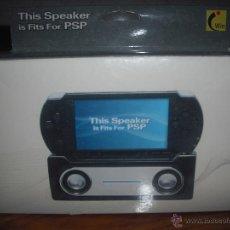 Videojuegos y Consolas: ALTAVOZ PARA PSP - NUEVO A ESTRENAR - DESCATALOGADO. Lote 68285913