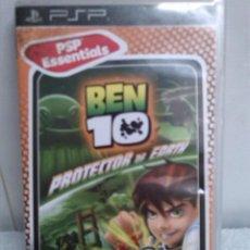 Videojuegos y Consolas: PSP JUEGO BEN 10 EN CAJA CON INSTRUCCCIONES. Lote 47563457