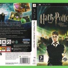 Videojuegos y Consolas: JUEGO PSP - HARRY POTTER Y LA ORDEN DEL FENIX - POCO USO.. Lote 48269053