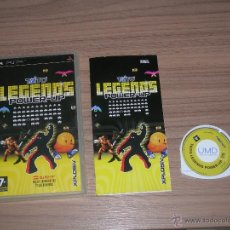 Videojuegos y Consolas: TAITO LEGENDS POWER-UP SONY PSP PAL ESPAÑA 21 JUEGOS RASTAN - SPACE INVADERS - NEW ZEALAND STORY ETC. Lote 48690065