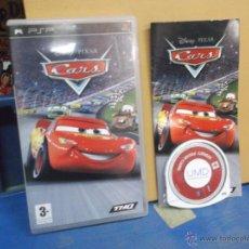 Videojuegos y Consolas: JUEGO PSP, CARS. - DISNEY. PIXAR.. Lote 49229798