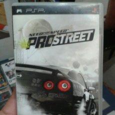 Videojuegos y Consolas: JUEGO PSP NEED FOR SPEED PRO STREET USADO PERO COMO NUEVO. Lote 49849031