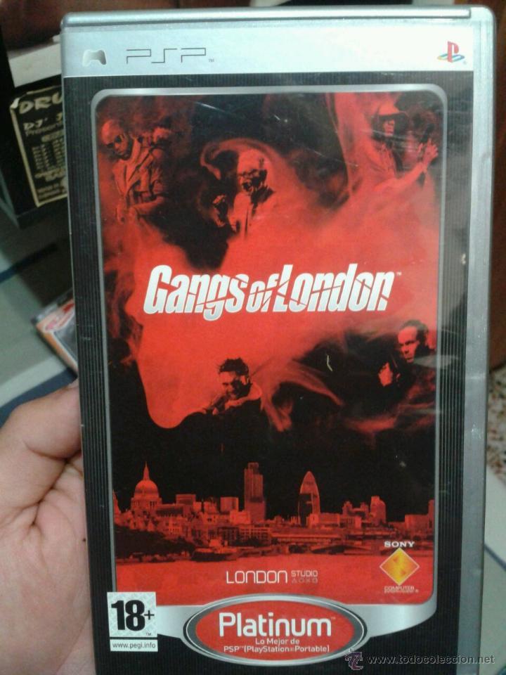 JUEGO PARA PSP GANGS OF LONDON PLATINUM (Juguetes - Videojuegos y Consolas - Sony - Psp)
