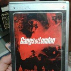 Videojuegos y Consolas: JUEGO PARA PSP GANGS OF LONDON PLATINUM. Lote 49849426