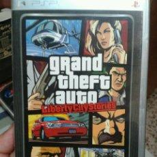 Videojuegos y Consolas: JUEGO PSP GRAN THEFT AUTO LIBERTY CITY PLATINUM. Lote 49849492