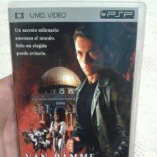Videojuegos y Consolas: PELICULA PARA PSP VAN DAMME THE ORDER. Lote 49850335
