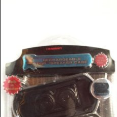 Videojuegos y Consolas: ALTAVOCES RECARGABLES PARA PSP SONY EN SU BLISTER SIN USO. Lote 50098816